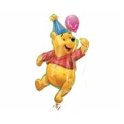 Super Sahape Winnie The Pooh Parti Folyo Balon